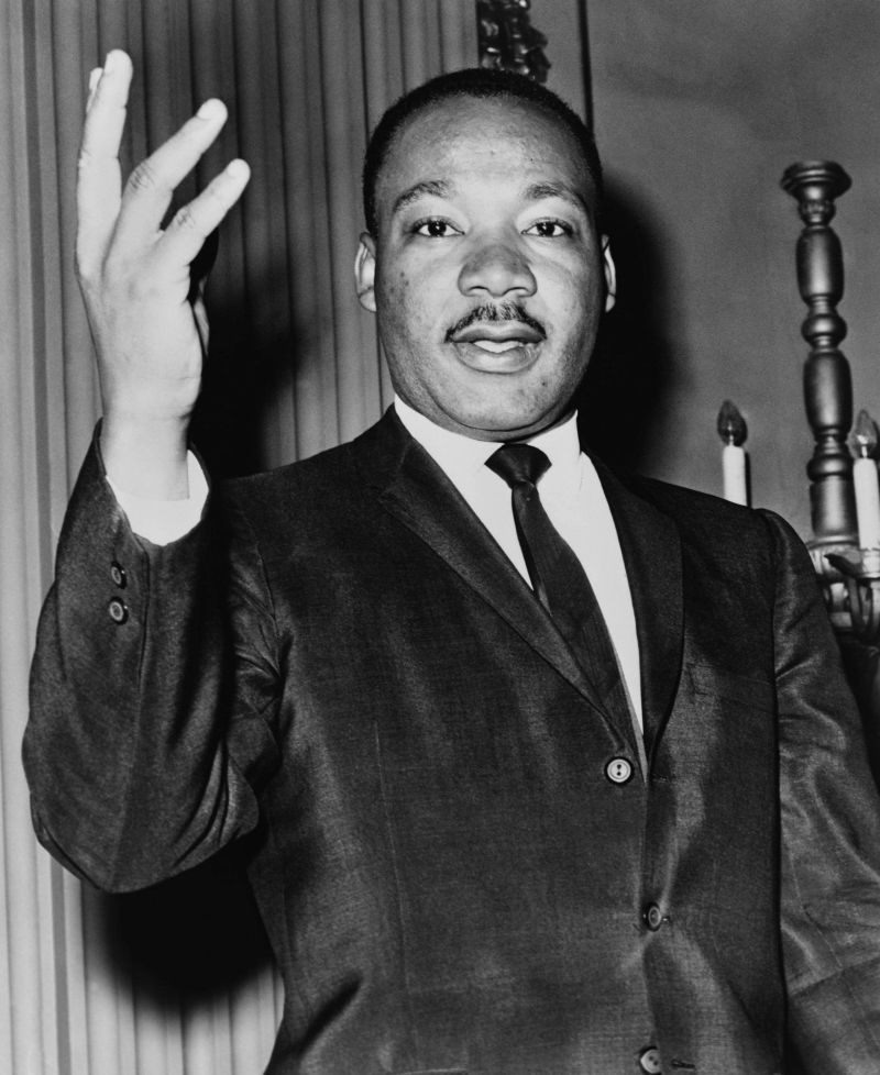 conocer historia Martin Luther king lider