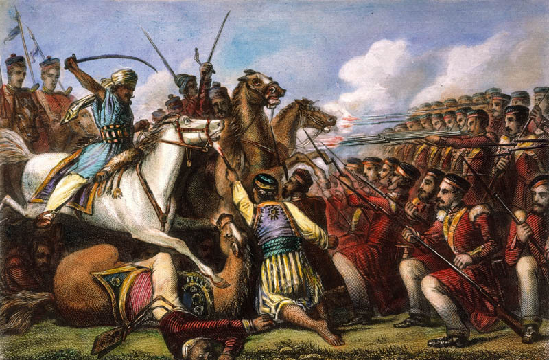 Motin de los cipayos, independencia de la India, conocer, historia