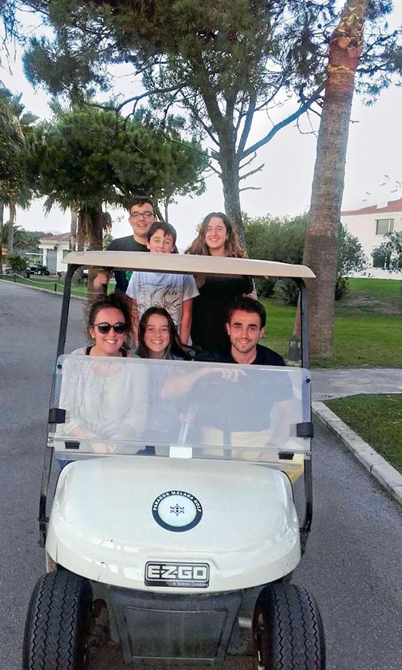 personajes, juan postigo, golf, xlsemanal