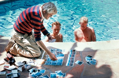 David Hockney, el pintor de piscinas