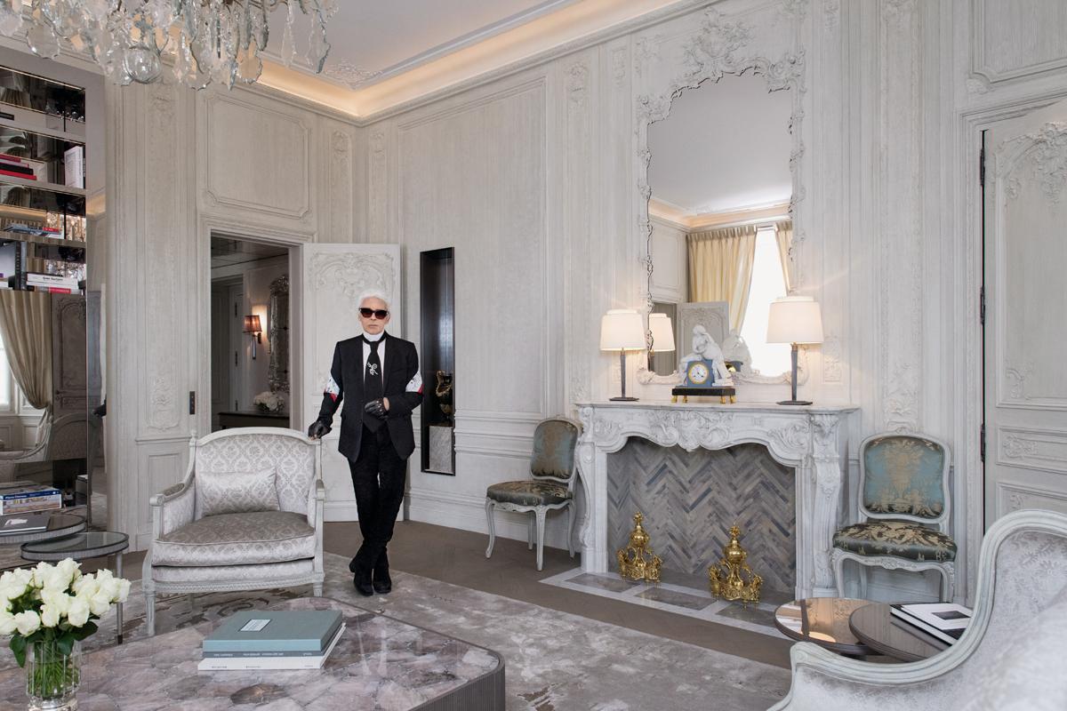 estilo, decoracion, karl lagerfeld, hotel crillon, paris, xlsemanal