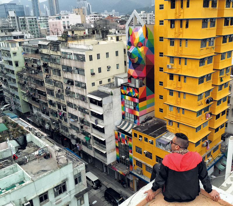 personajes, okuda, banksy, arte urbano, street art, xlsemanal