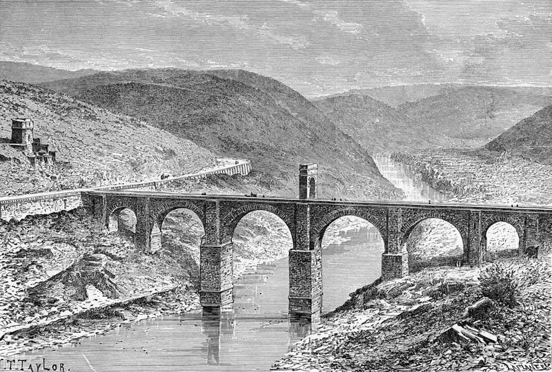 conocer historia puente de Alcantara romano