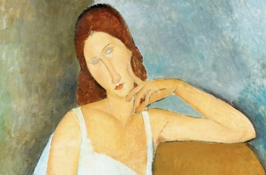 Modigliani, Amedeo (1884-1920): Jeanne Hebuterne, 1919. New York, Metropolitan Museum of Art*** Permission for usage must be provided in writing from Scala.