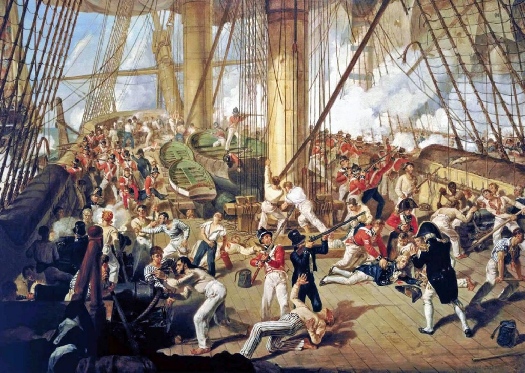 Batalla de Trafalgar conocer, historia