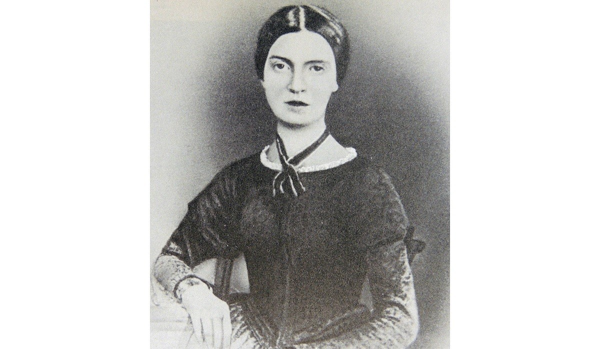 Emily Dickinson (1830-1886) American poet. A mystical recluse, she lived all her life at Amherst, Mass., USA.