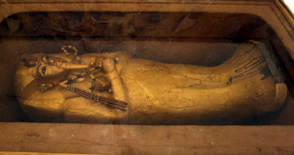 Tutankhamon sarcófago conocer, historia