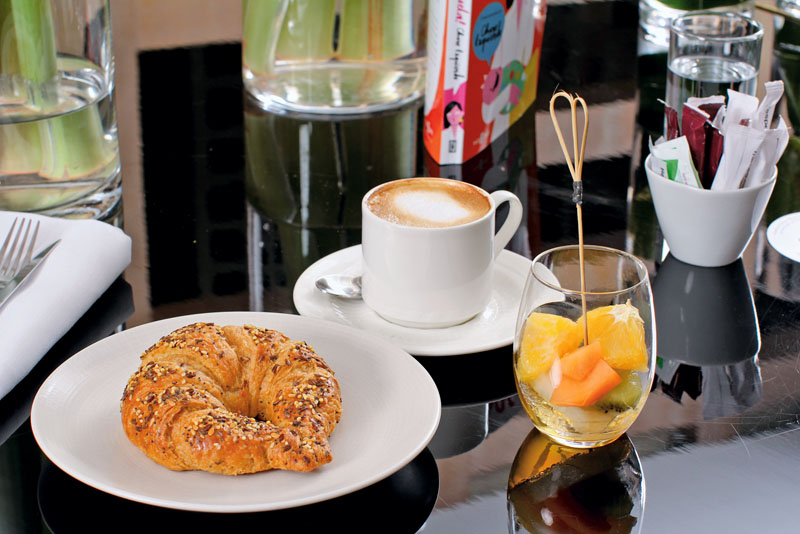 desayuno con charo izquierdo, mercedes benz fashion week madrid, xlsemanal