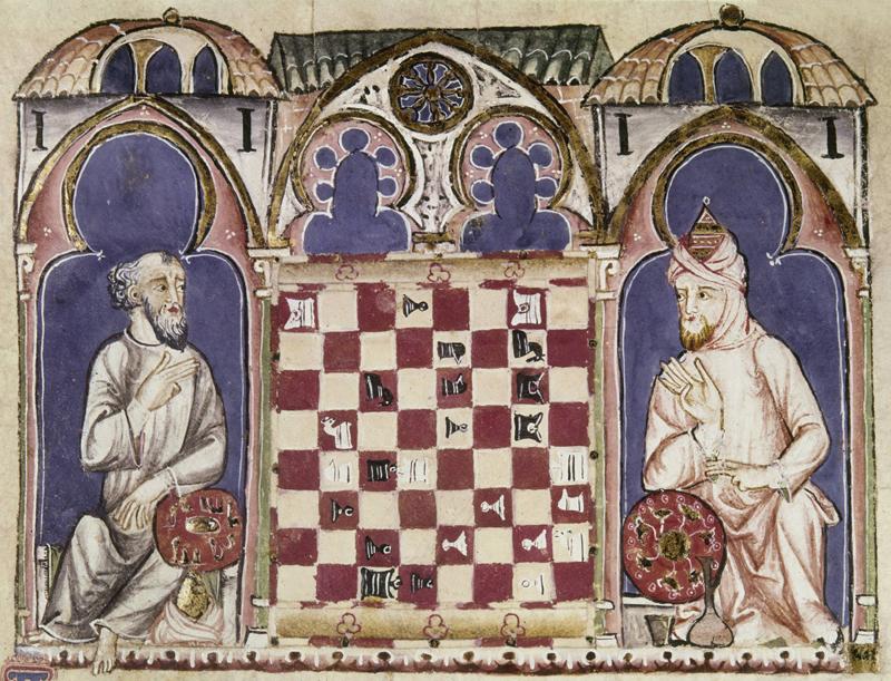 conocer, historia, Alfonso X, Cantigas, ajedrez