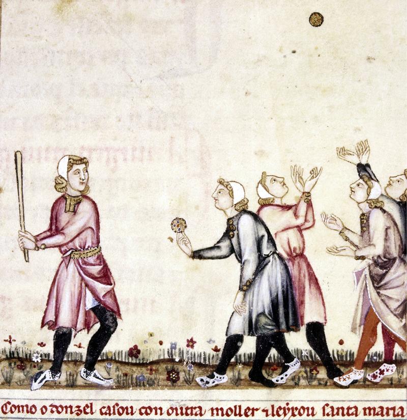 conocer, historia, Alfonso X, Cantigas, juego