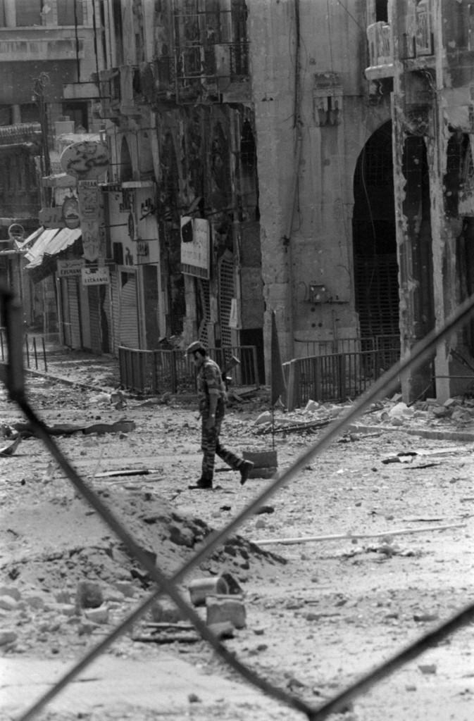 Conocer, hsitoria Libano, guerra civil