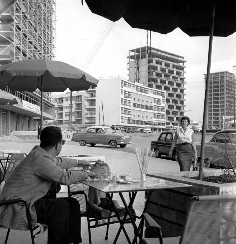 Conocer, historia, Beirut Capital Libano 1958