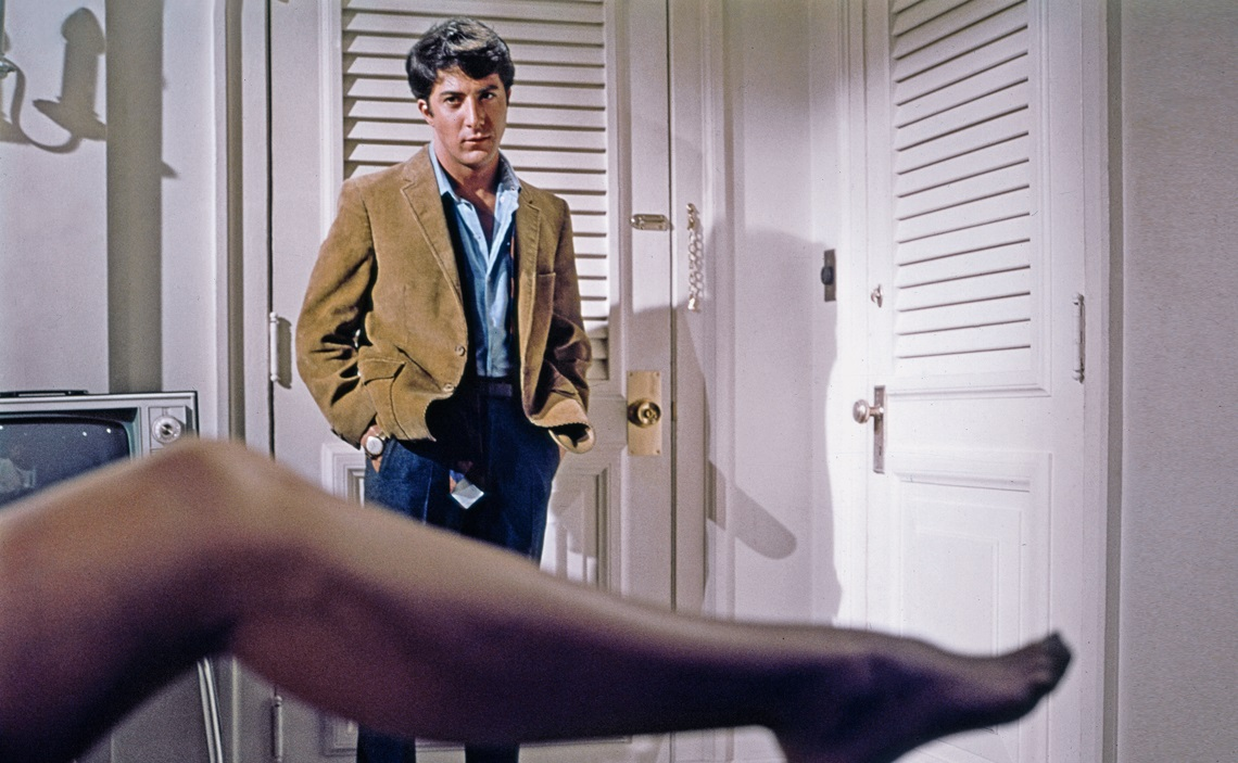 """The Graduate"" ( El Graduado )  Dustin Hoffman 1967 Embassy Pictures"