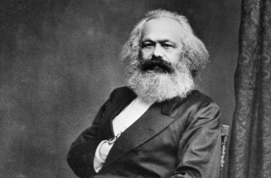 Karl Marx (1818-1883), philosopher and German politician.