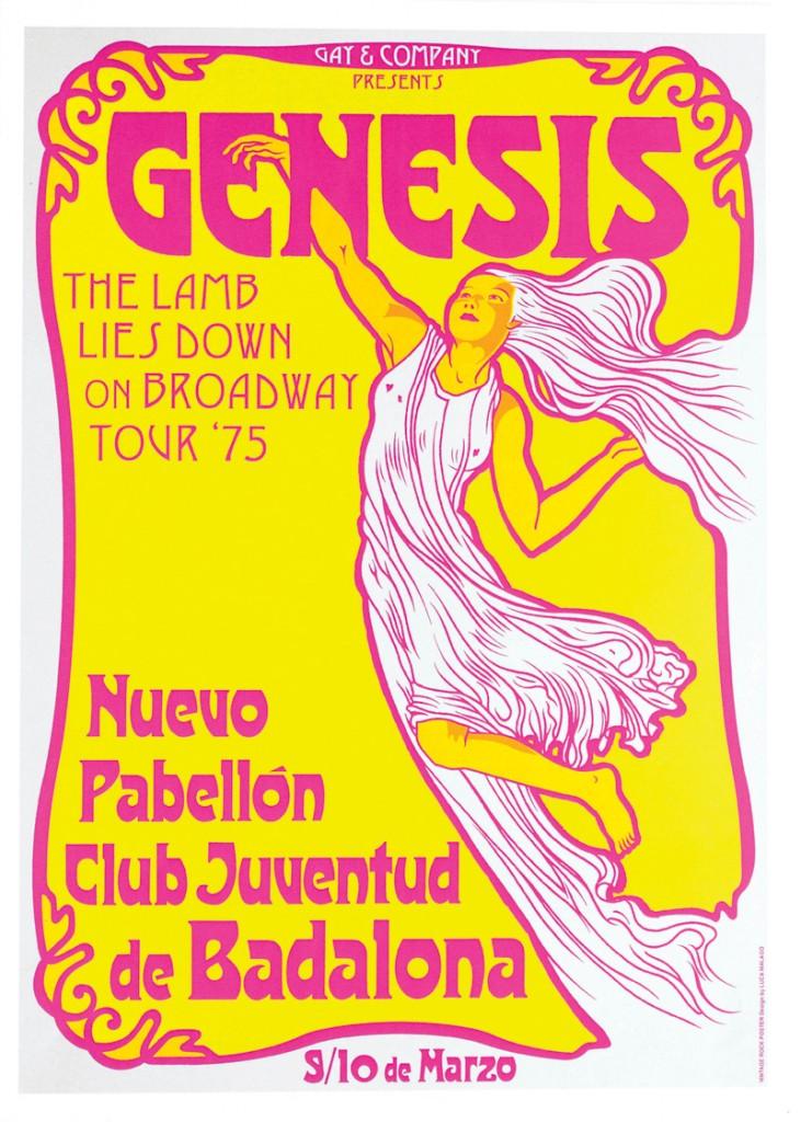 Poster Genesis Gay Mercader promotor musical xlsemanal