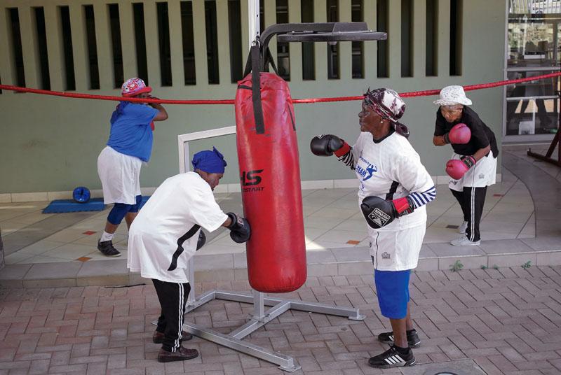 actualidad, abuelas boxeadoras, xlsemanal