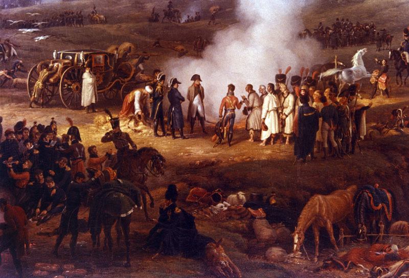 Conocer historia Napoleon Batalla de Austerlizt