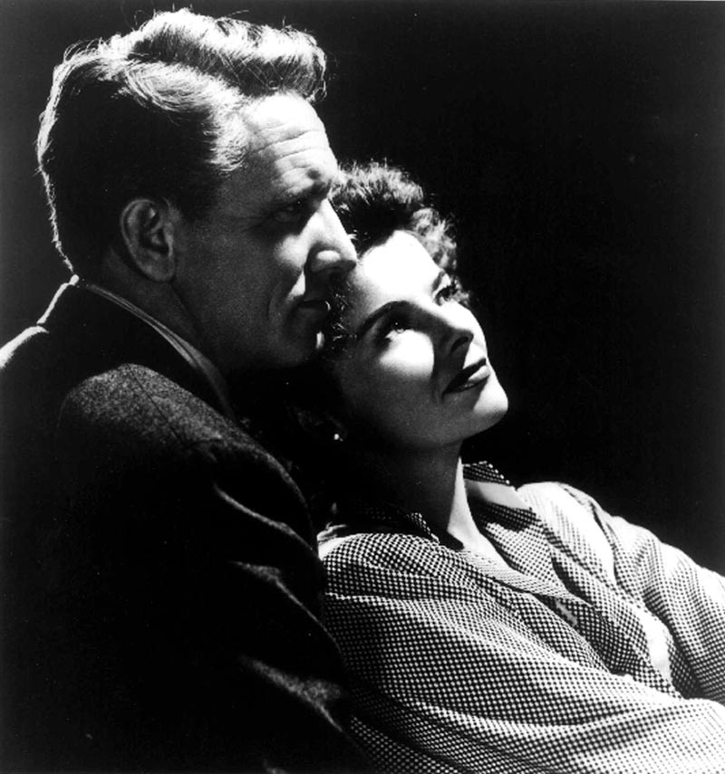 estilo gente, Katharine Hepburn, Spencer Tracy