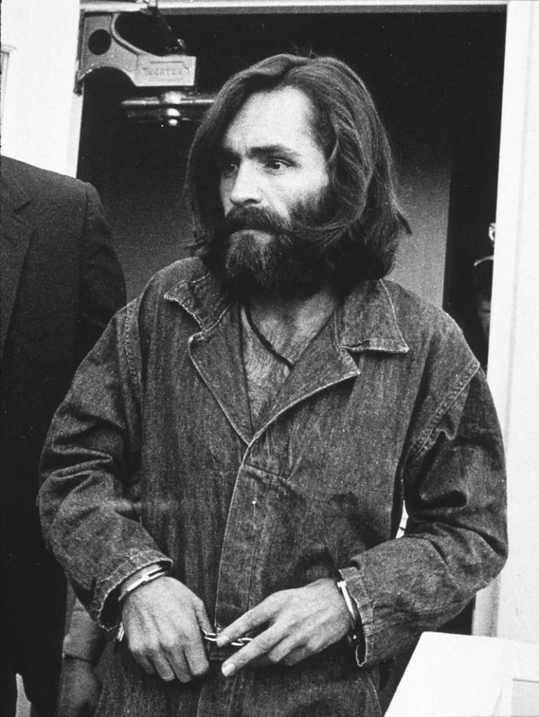 El asesino en serie Charles Manson