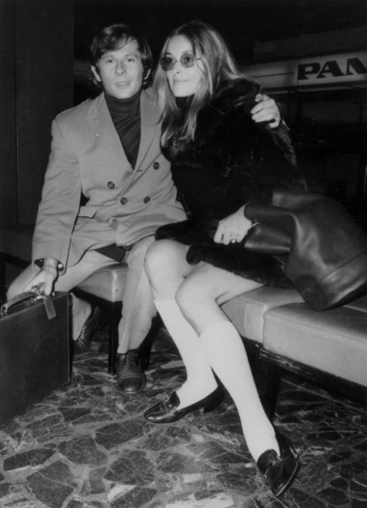 Sharon Tate y Roman Polanski 1968