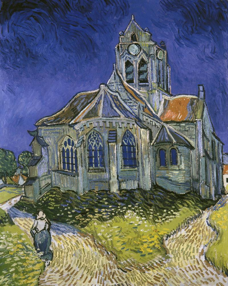 Van gogh iglesia Auvers -sur-oise