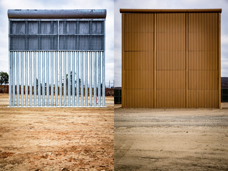 actualidad, frontera trump, tipos de muro, xlsemanal