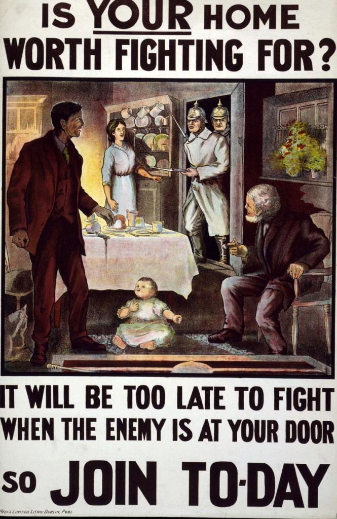 cartel propagando primera guerra mundial ayuda
