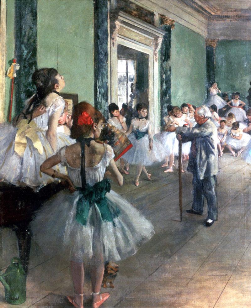 conocer, arte, impresionistas Degas