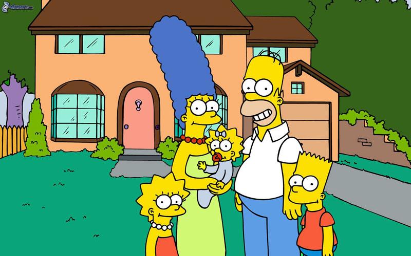 Los Simpson dibujos animados