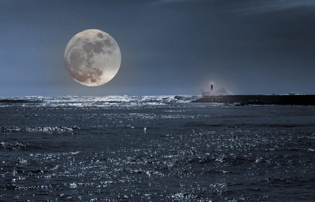 Conocer ciencia luna llena