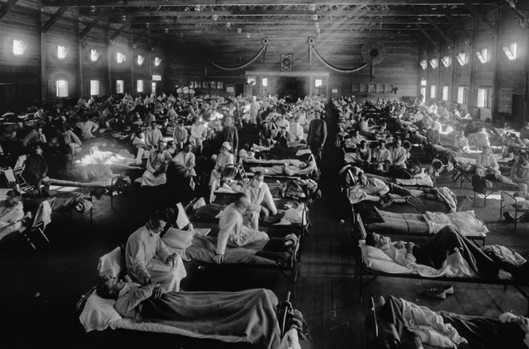 La gripe Española más letal que las guerras mundiales Montajegripe-768x506