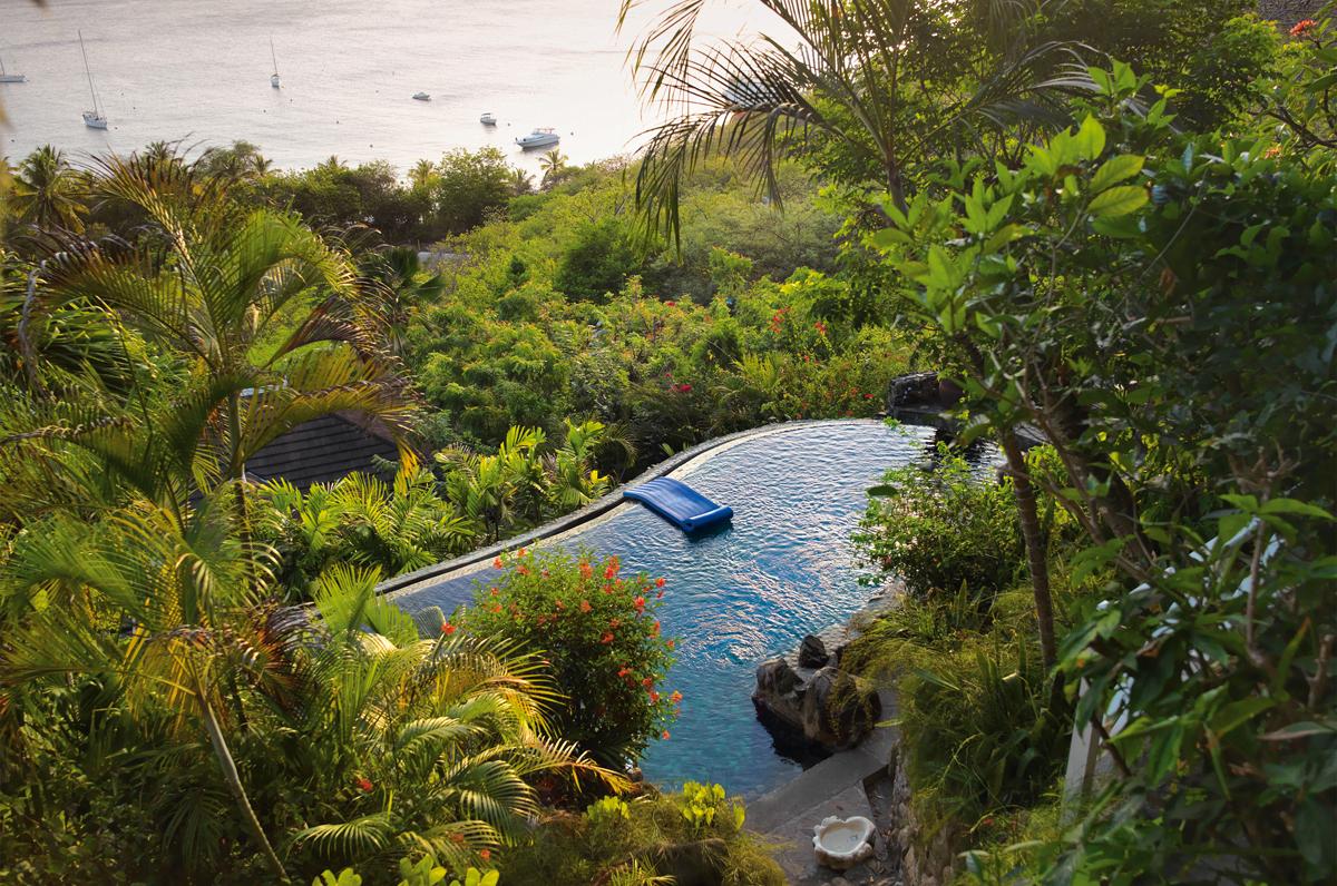 mustique, la isla de los famosos