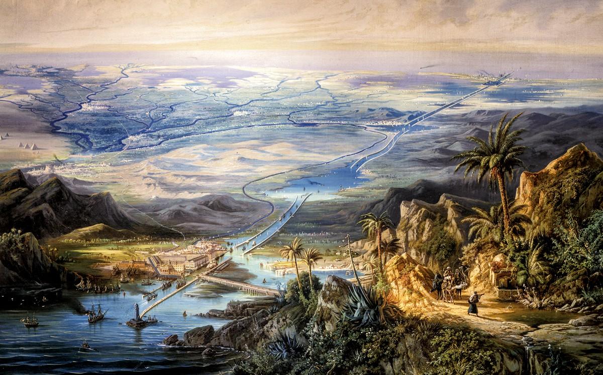 Canal de Suez: miles de muertos, el precio de una obra faraónica
