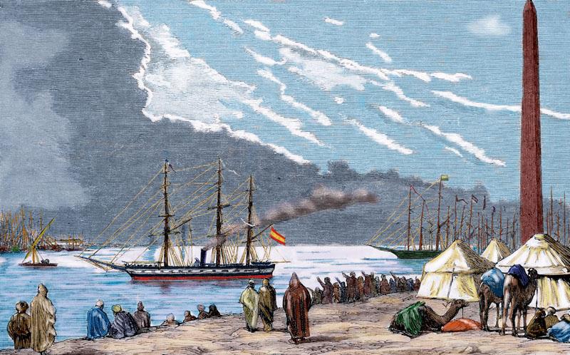 150 aniversario del canal de suez, union entre europa y oriente