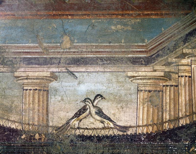 Frescos en Pompeya