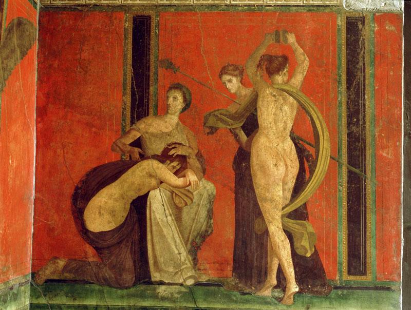 Frescos de Pompeya