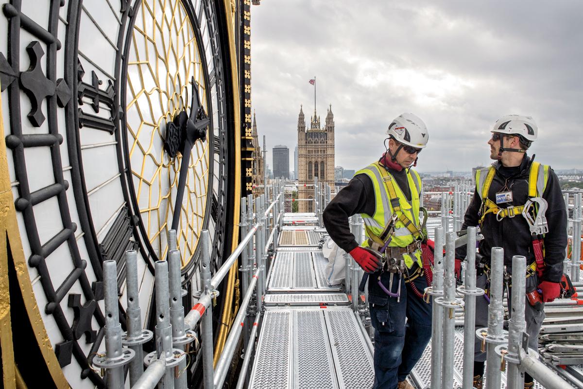 El Big Ben En Silencio Por Las Obras De Restauración