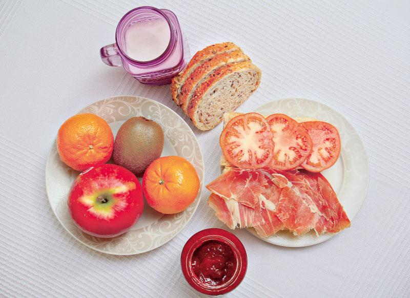 Desayuno Maria Pujalte