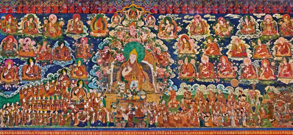 Murales del Tibet