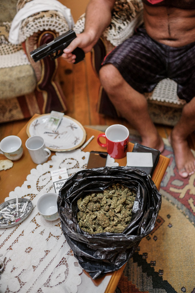 mercado de la droga albaneses