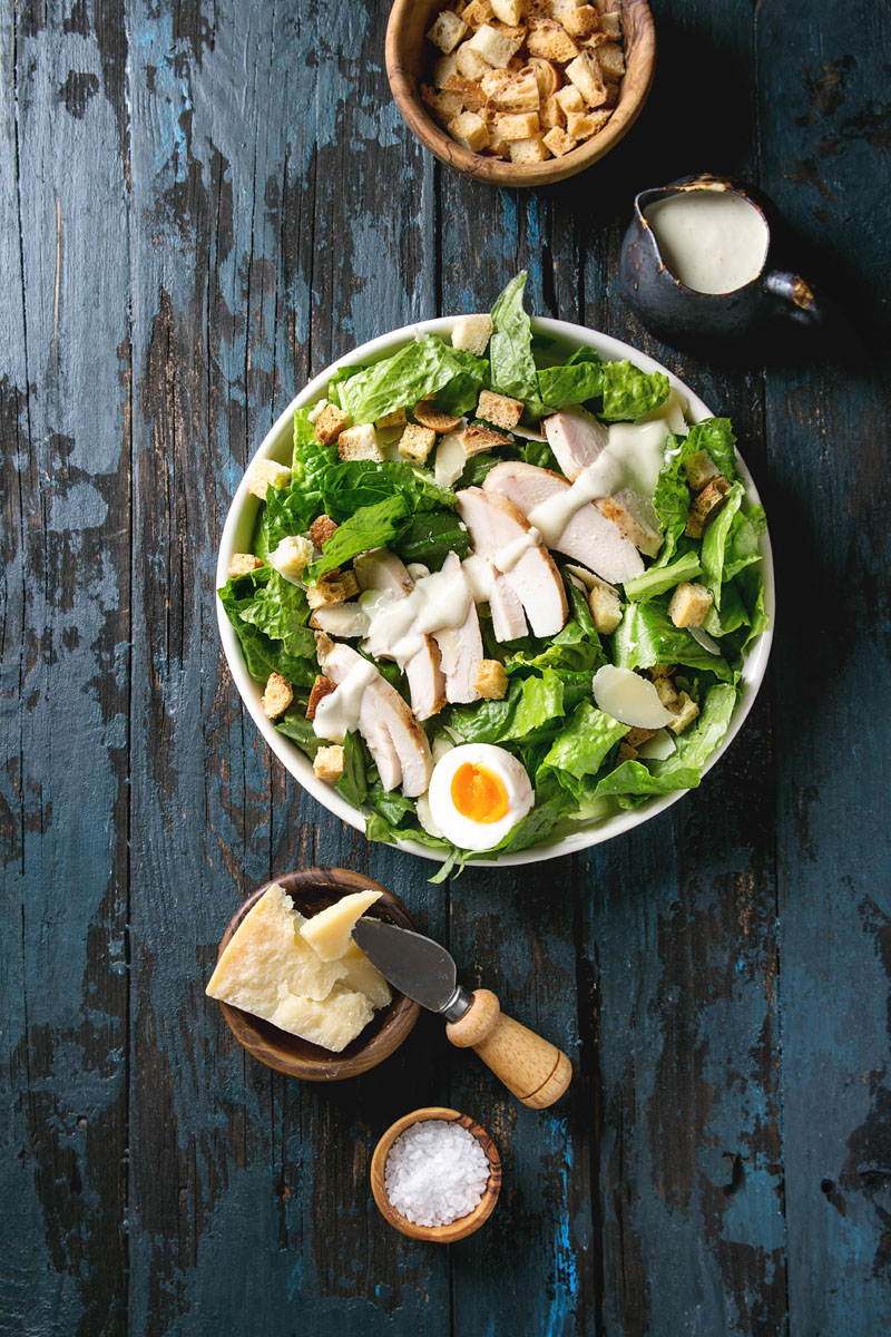 KHKJTM Classic Caesar salad