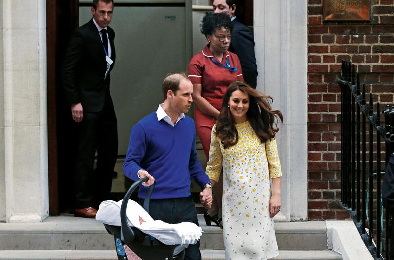 comadrona de la casa real britanica, kate