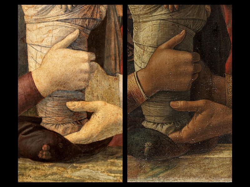 mantegan versus bellini la presentacion en el templo (3)