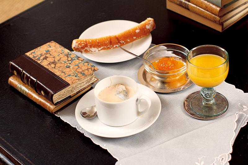 desayuno Andres Amoros