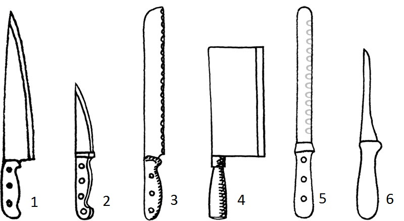 knife array copia