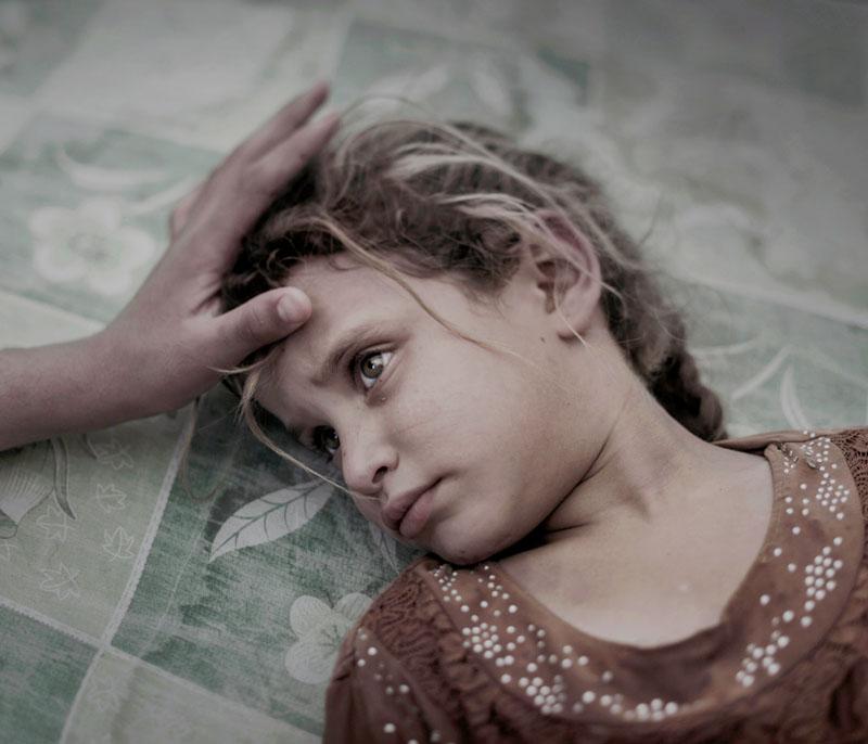 refugiados en sucia caen en coma