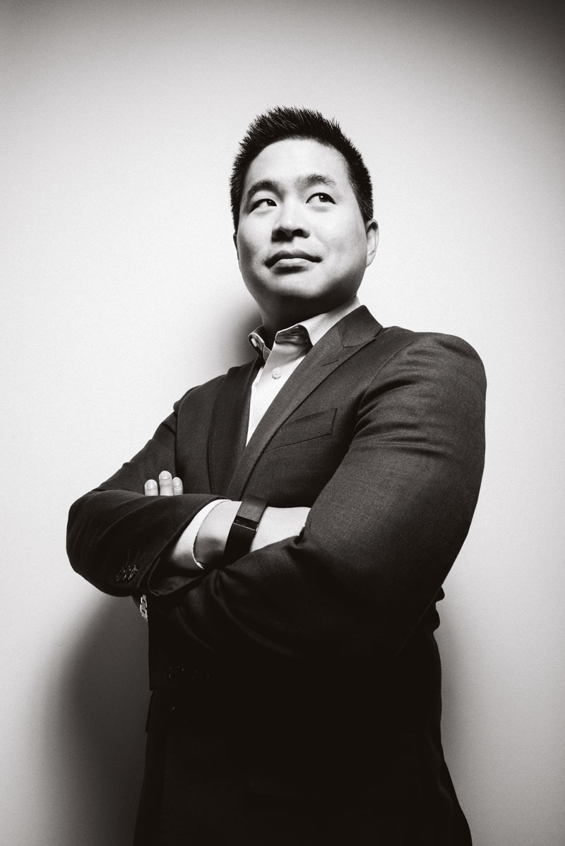 ca. 2015: Brad Katsuyama (Photo by Jamel Toppin/Forbes Collection/Corbis via Getty Images)
