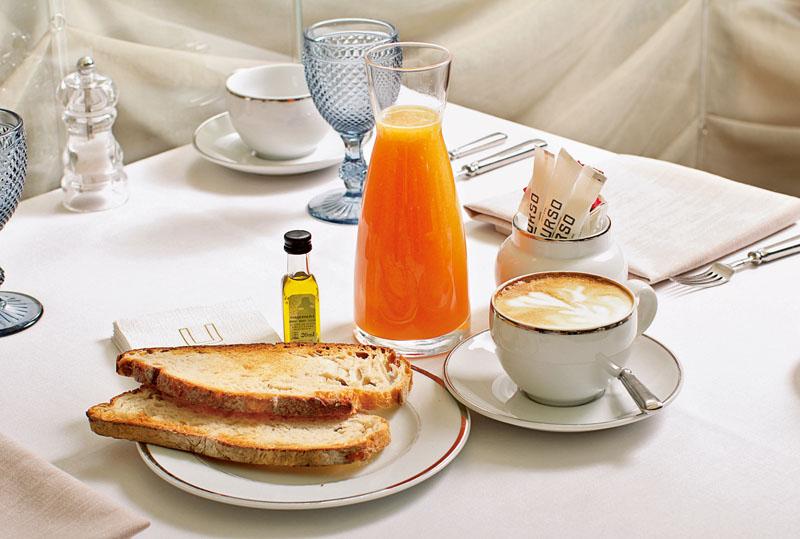 Concha Velasco, desayuno