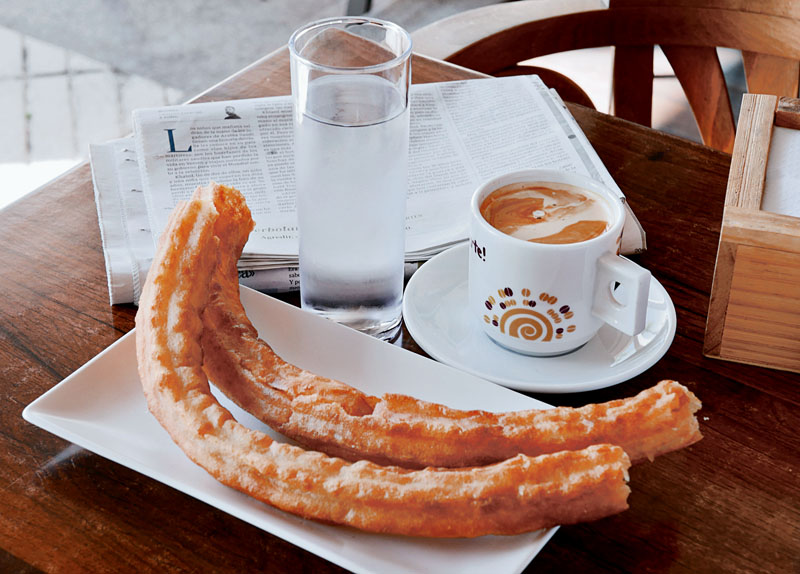 Desayuno Rosa Villacastin