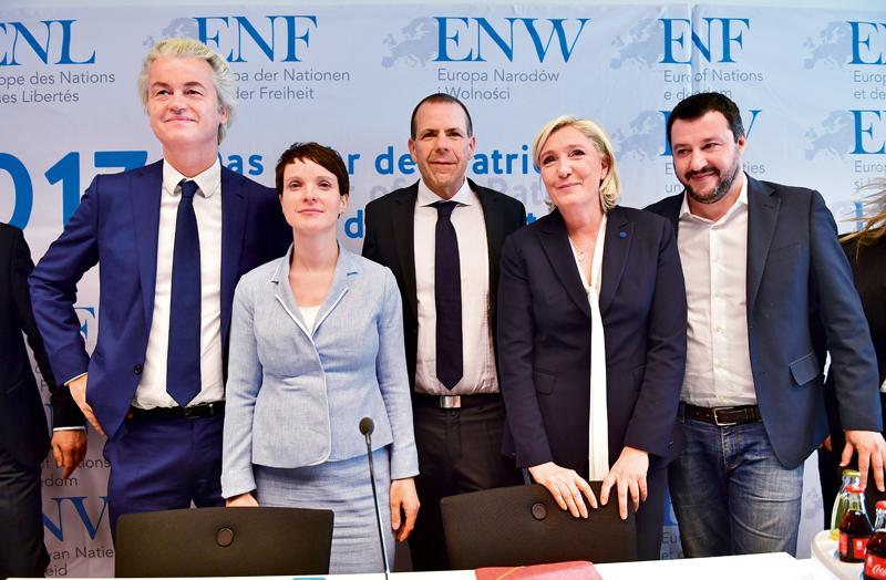 Matteo Salvini ultraderecha Europa